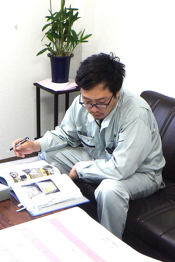 インタビュー風景:柿木 昌人